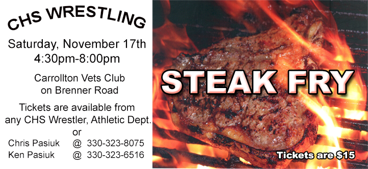 Wrestling Steak Fry!