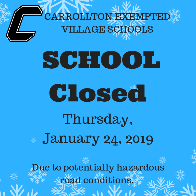 School closed Jan 24
