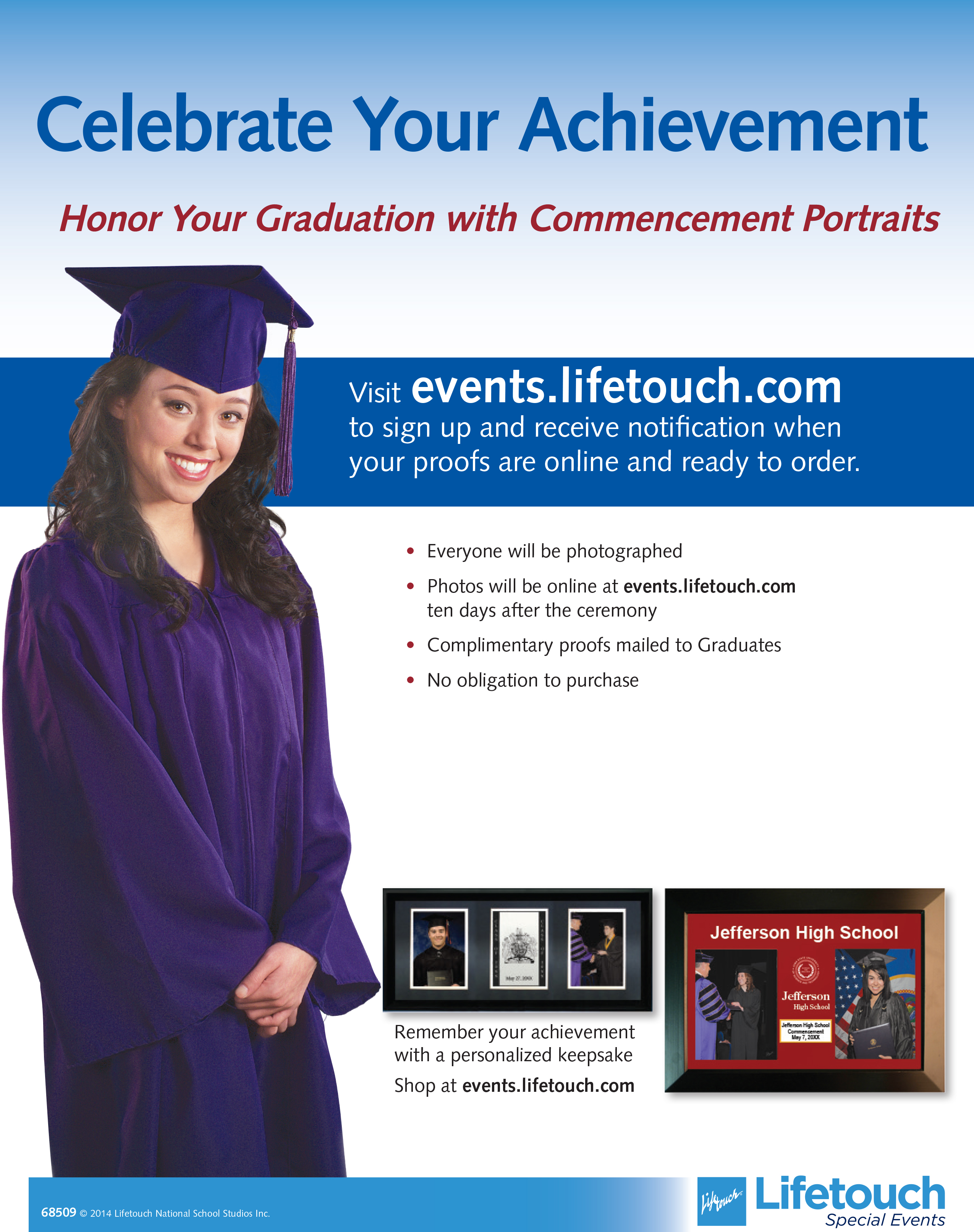 Lifetouch at Commencement