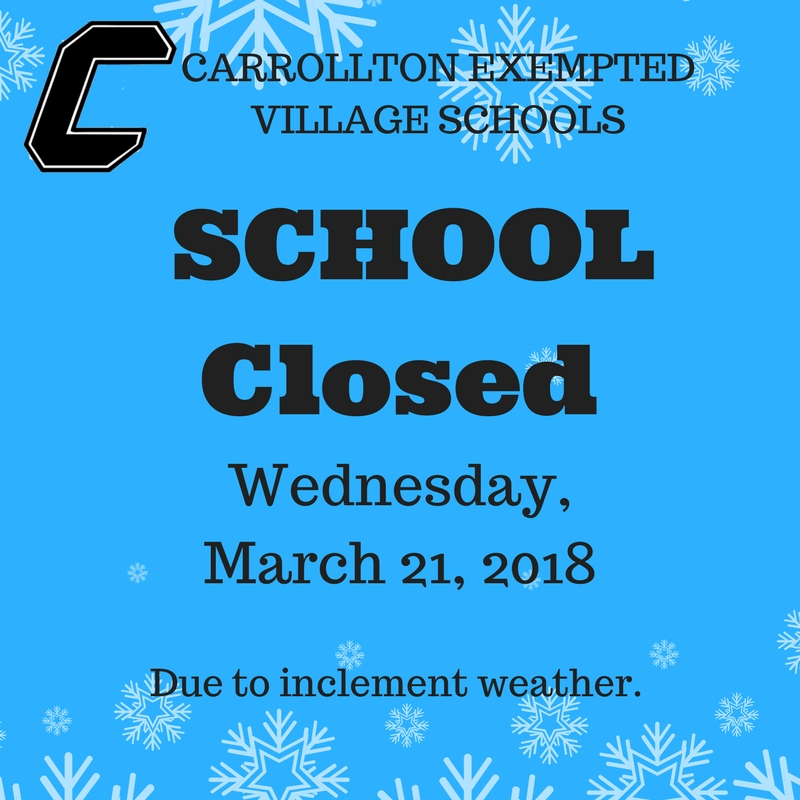 School CLOSED March 21, 2018